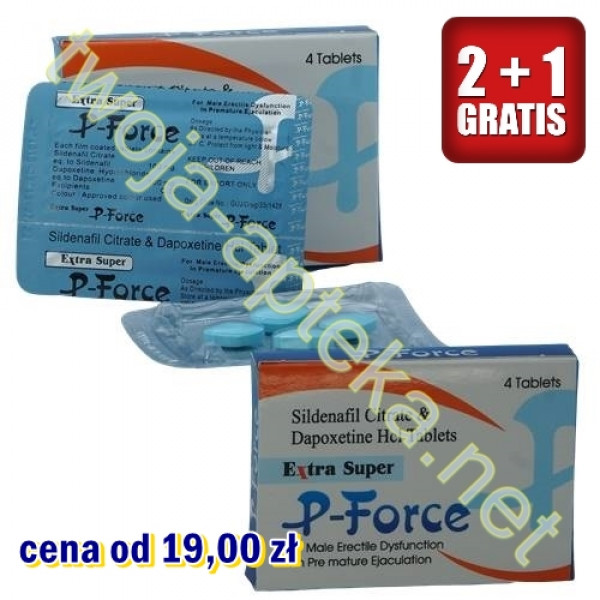 EXTRA SUPER P-FORCE (sildenafil 100mg + dapoxetyna 100mg)